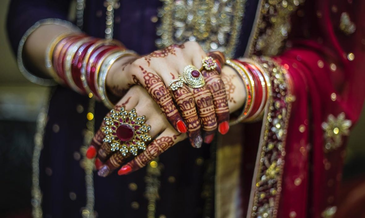 Indian wedding in Phuket, Kanjeevaram Saree