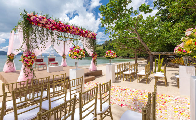 Service Gold Wedding Package Phuket